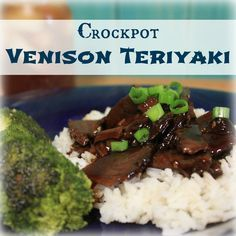 Crockpot Venison Teriyaki | My Wild Kitchen - Your destination for wild recipes