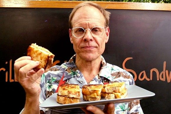 Alton Brown wants to know where you get sandwiches in town.