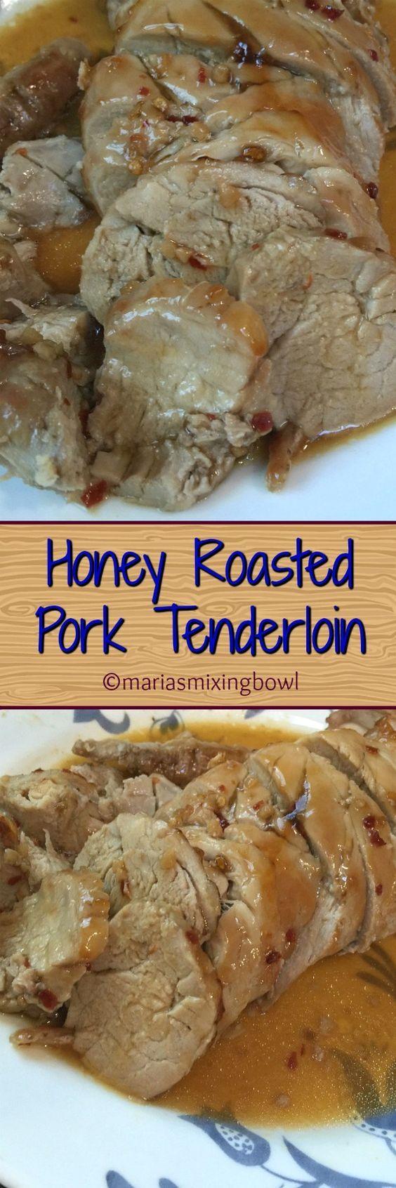 Honey Roasted Pork Tenderloin