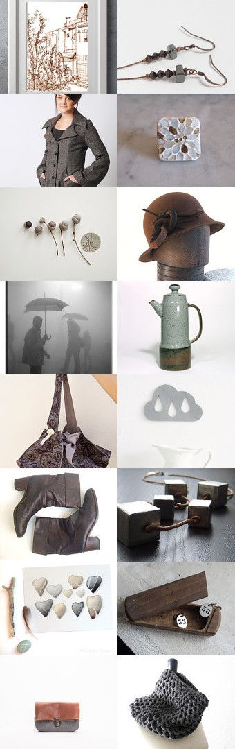 Nice walk, grey weather by la jèremulie on Etsy--Pinned with TreasuryPin.com