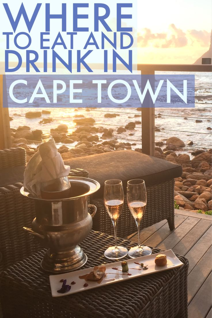 Wondering where to go to get your food fix on in Cape Town? Try these amazing restaurants next time you are in The Mother City.