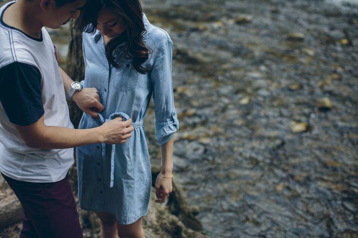 Caledon Engagement Session // Love // Outdoors // Adventure // Happy // Muskoka Wedding Photographer ©Eleanor Dobbins Photography