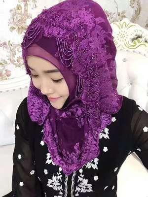 Elegant Wedding Hijab //Price: $72.01 & FREE Shipping //     #hashtag4