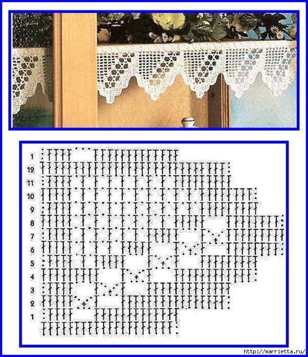 Винтажное вязание крючком. Много винтажных идей со схемами. Комментарии : LiveInternet - Российский Сервис Онлайн-Дневников