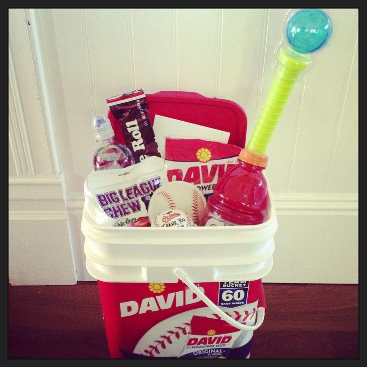 DIY Baseball Coach Gift