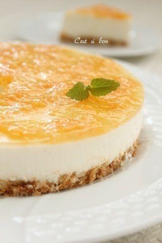 レアチーズケーキ♪グレープフルーツソースを添えて by souffleさん ...