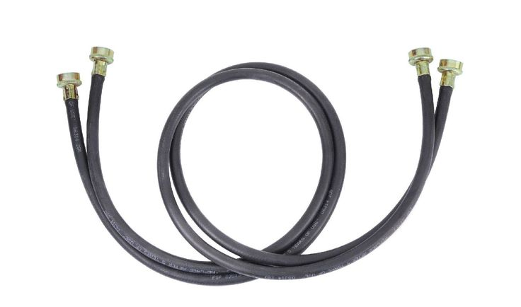 Whirlpool 8212656RP 10 Foot Long Washer Supply Hose (pack of 2) Accessory Washer Hose Assembly