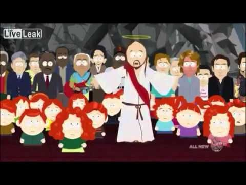 The content of this speech is not as significant as the fact that this episode only aired once on t.v. and was heavily censored anyway. The controversial speech came under fire after threats of religious violence for the depiction of Muhammad, which is why it's included here. Ridiculing the sacred and bringing it to the level of the profane was met here with nearly tragic results.