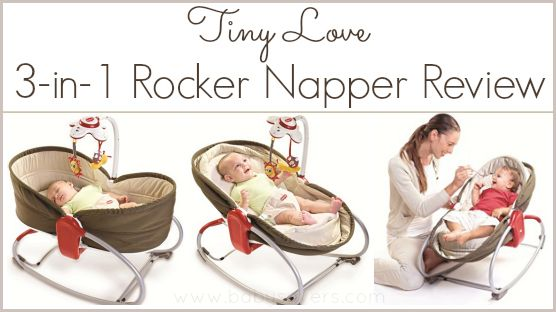 Tiny Love 3-in-1 Rocker Napper Review: A Space Saving Solution!