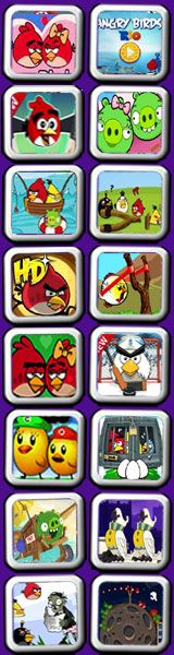 all angry birds games