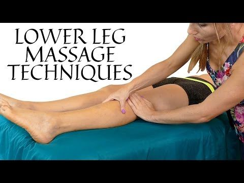 Michigan State University Rehabilitation: Lymphedema Lower Leg and Ankle Self Massage - YouTube