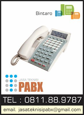 Jasa Teknisi PABX : 0811889787: Bintaro