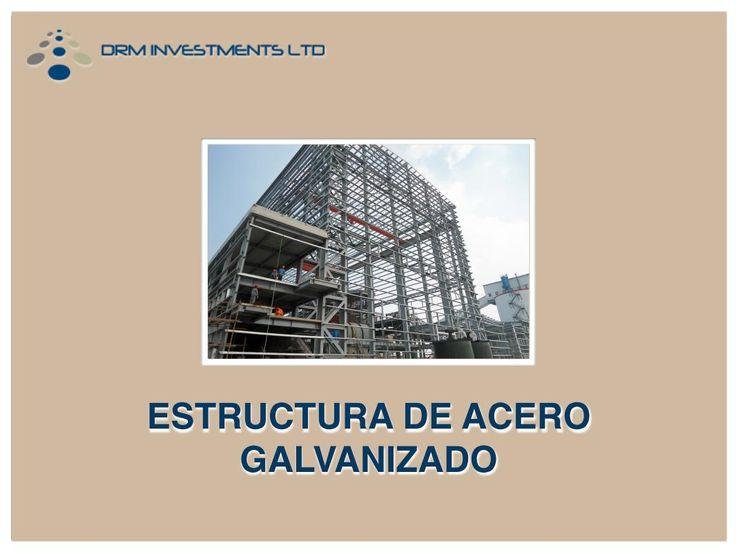 Estructura de acero galvanizado - www.drmprefab.com