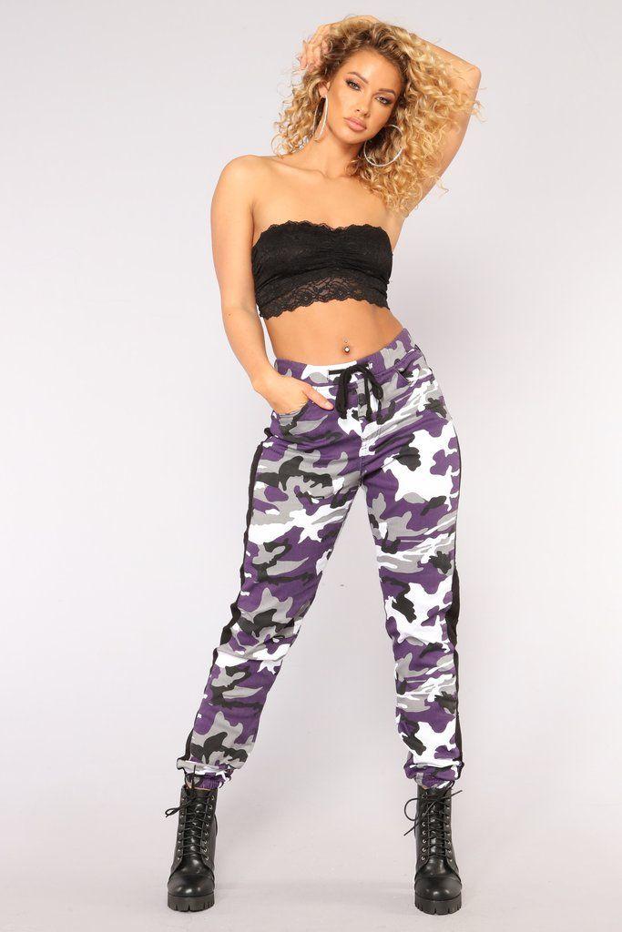 884c3d481a3 Cadet Kasey Cargo Joggers - Purple Fashion Nova Pants