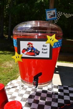 """Photo 1 of 52: Super Mario Brothers / Mario Kart Wii / Birthday """"Super Marshall Brothers Birthday Party """"   Catch My Party"""