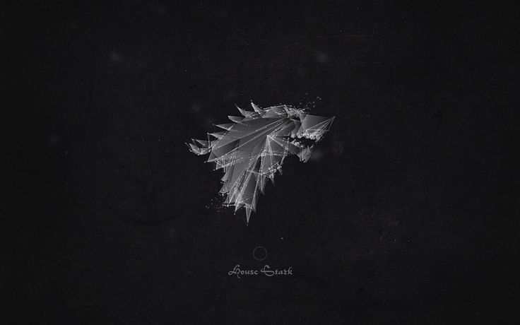 Game of Thrones Wallpaper - House Stark http://loicmermilliod.com/projects/wallpapers/