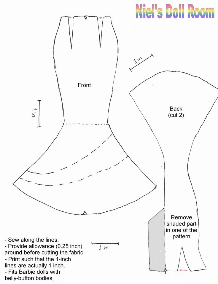 17 Best ideas about Barbie Sewing Patterns on Pinterest | Barbie ...