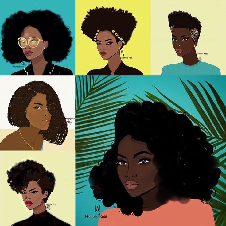 Portrait série colored girls. Nicholle Kobi Black