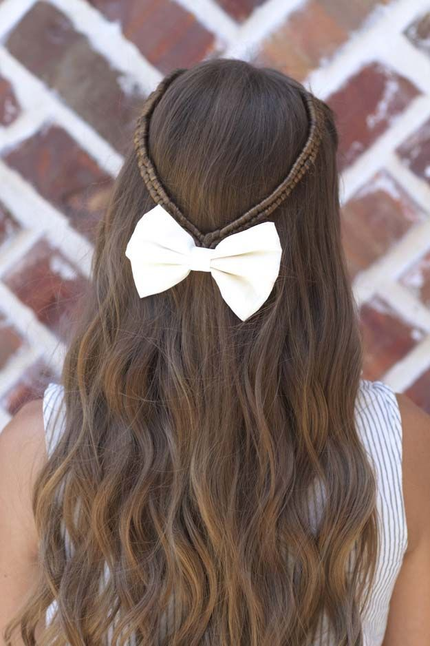 1000 ideas about Quick School Hairstyles on Pinterest