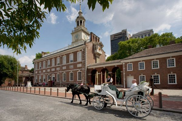 A must see...Independence Hall - Philadelphia, PA...I got chills thinking about the founders of the USA sitting there writing the Declaration of Independence.