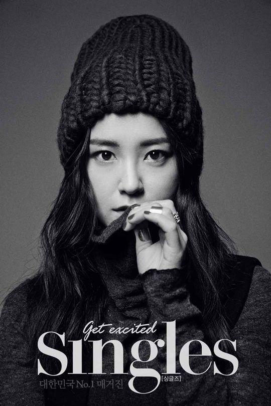 Jung Yumi Singles Korea Magazine January 2014