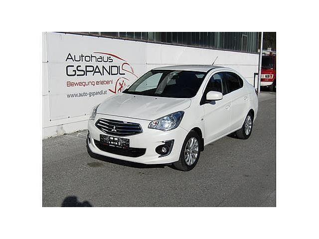 Mitsubishi Attrage Limousine in Weiß als Gebrauchtwagen in Köflach für € 7.900,-