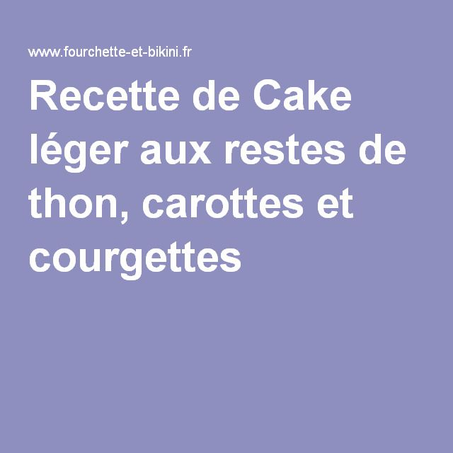 Cake au raisin leger