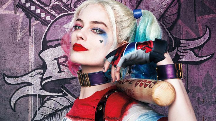 Margot Robbie as Harley Quinn - Suicide Squad 3840x2160 wallpaper