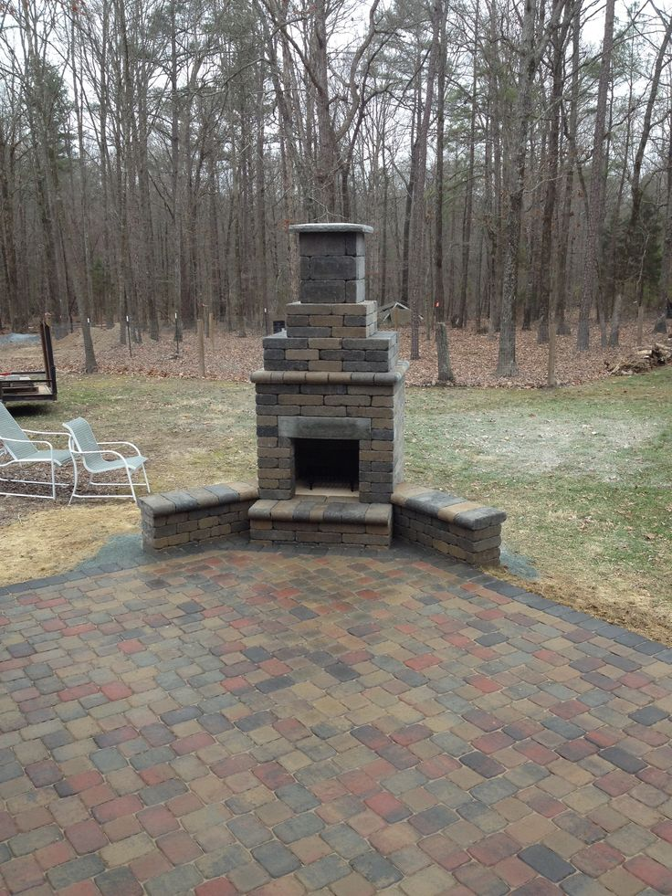 24 best images about Charlotte Outdoor Fireplaces on