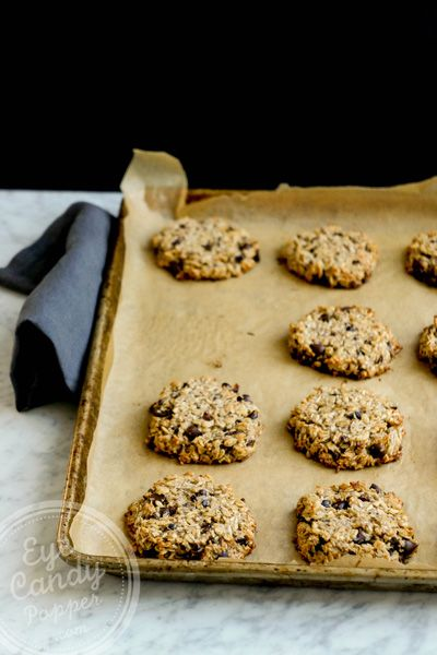Oat, coconut and cacao cookies (vegan, no flour, no sugar) Some of the easiest cookies to make and by far the healthiest!
