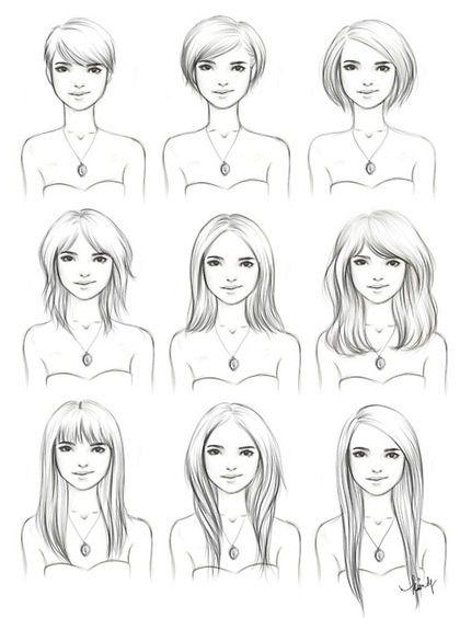 Conseils comment coiffer ses cheveux, idées pour se coiffer cheveux courts, longs, frisés ou bouclés selon la morphologie de son visage, conseil coiffure.