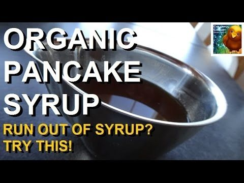 Run Out Of Syrup? Make Your Own Healthy Pancake Syrup