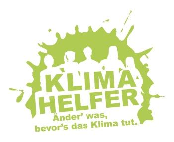 Klimahelfer – Änder' was, bevor's das Klima tut unter Schirmherrschaft der Klimaschutzministerin Eveline Lemke.