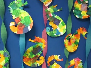 Seahorse Craft Pinterest