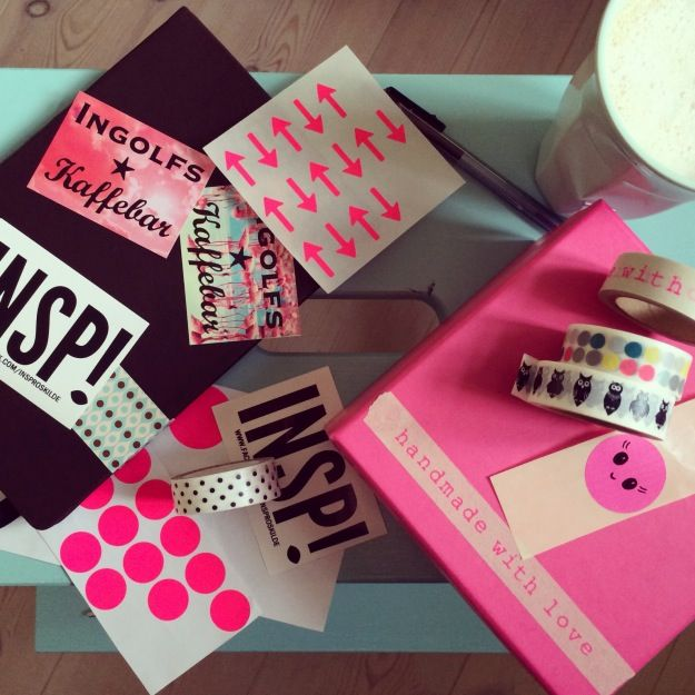 """365 mood boards in 2014. Moodboard #3: """"Pimping my new notebook and look forward to beautiful morningpages in 2014"""". Instagram filter Valencia. Photographer: Susanne Randers"""