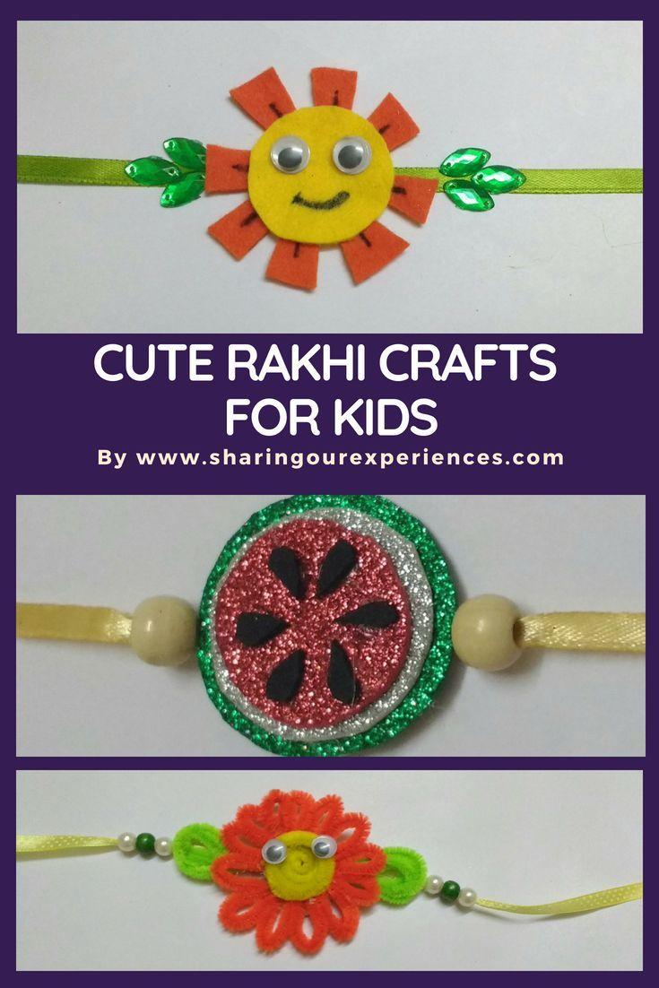 Diy Handmade Rakhi Ideas For Kids For This Rakshabandhan Crafts