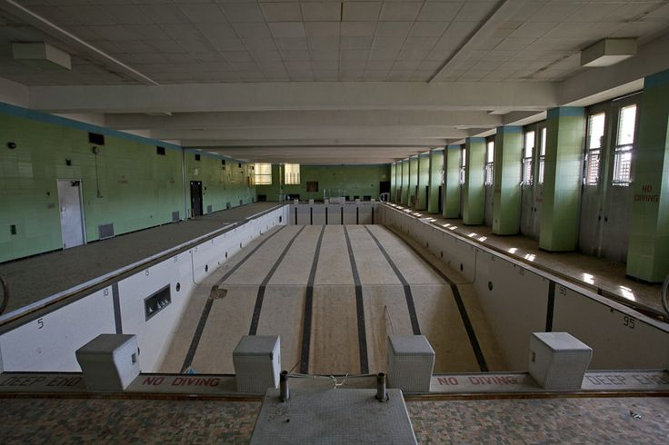 Abandoned Redford High School Detroit Michigan The School
