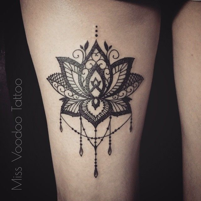 "669 Likes, 16 Comments - Miss Voodoo Tattoo (@missvoodooo) on Instagram: ""Tkx Marjorie ,  Done at l'Heure Bleue, Lyon @tattoobydodie …"""