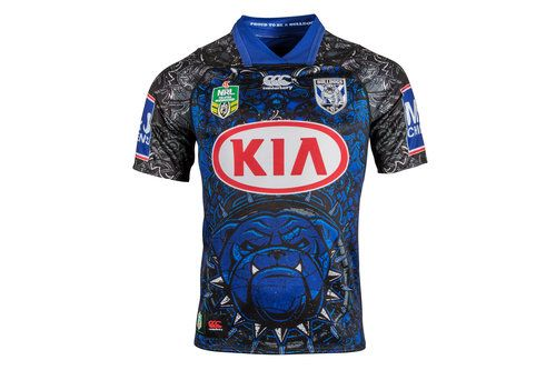 Canterbury Bulldogs 2018 NRL Limited Edition S/s Rugby Shirt, £70.00