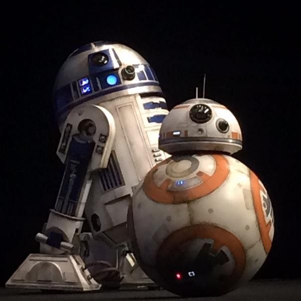 R2-D2 & BB-8 #StarWarsCelebration
