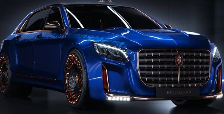 Scaldarsi's 1.5M Maybach S600 Built for an Emperor