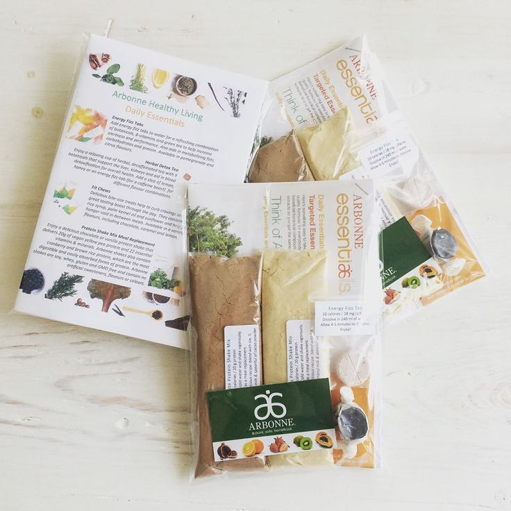 """People are always asking me about our phenomenal plant-based nutrition products so I made these awesome little free sample packs for my friends to try.  """"Like"""" my FB page at Surshae Arbonne Independent Consultant. Consultant ID: 21565488"""