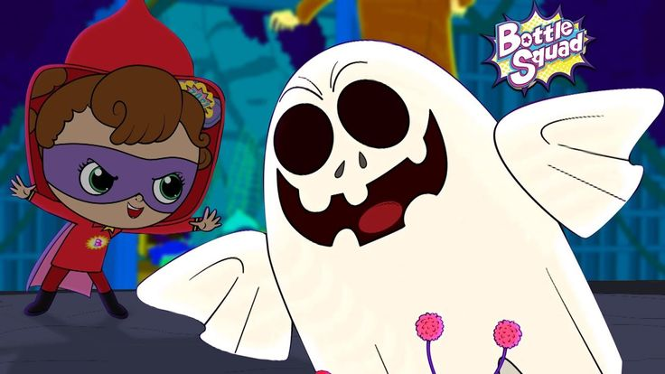 Hello Its Halloween | Bottle Squad | Scary Rhymes For Kids | Halloween Rhymes | Superhero Videos - YouTube