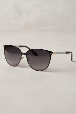 57af189fd9e58a Jimmy Choo Posie Sunglasses Brown One Size Eyewear  jimmychoosunglasses