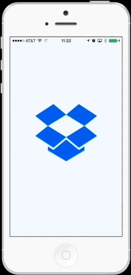 Animation-filled walkthroughs like Dropbox's page tutorial really grab a user's attention. Image credit: vektordigital