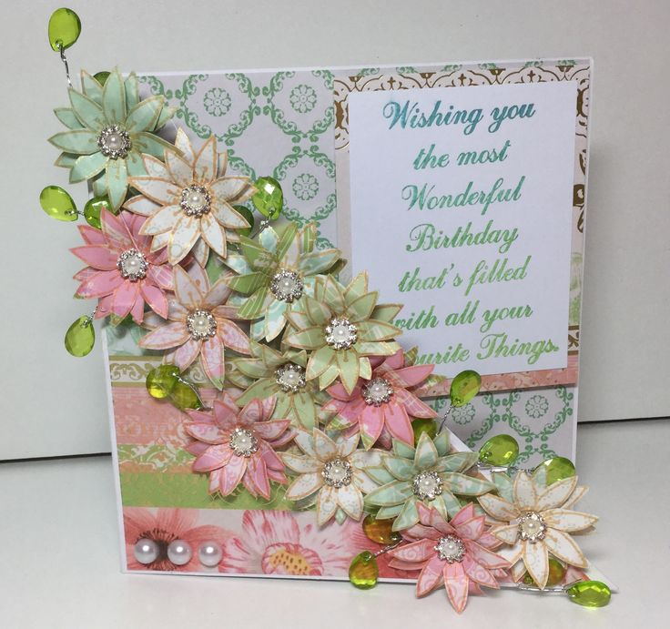 Beautiful #floral card made using the Stamps by Chloe. See the full range of…