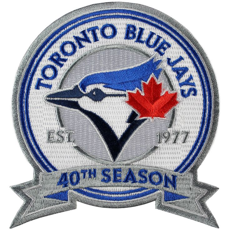 2016 Toronto Blue Jays 40th Anniversary Season Patch Sleeve Jersey #MLB Official from $13.49