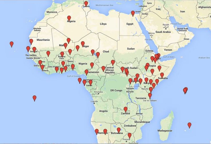 Africa Map Indeed, US staging areas, cooperative security locations, forward operating locations (FOLs), and other outposts—many of them involved in intelligence, surveillance, and reconnaissance activities and Special Operations missions—