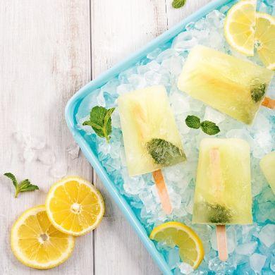 Pops alcoolisés citron-menthe - Recettes - Cuisine et nutrition - Pratico Pratique