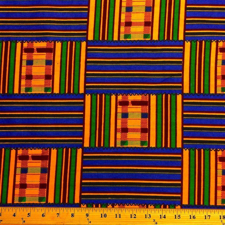 Kente African Print (19008-1)